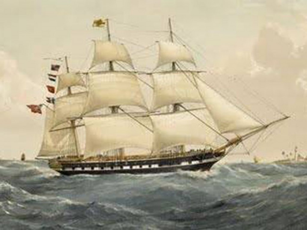 'HMS Owen Glendower, 1808, painted by unknown