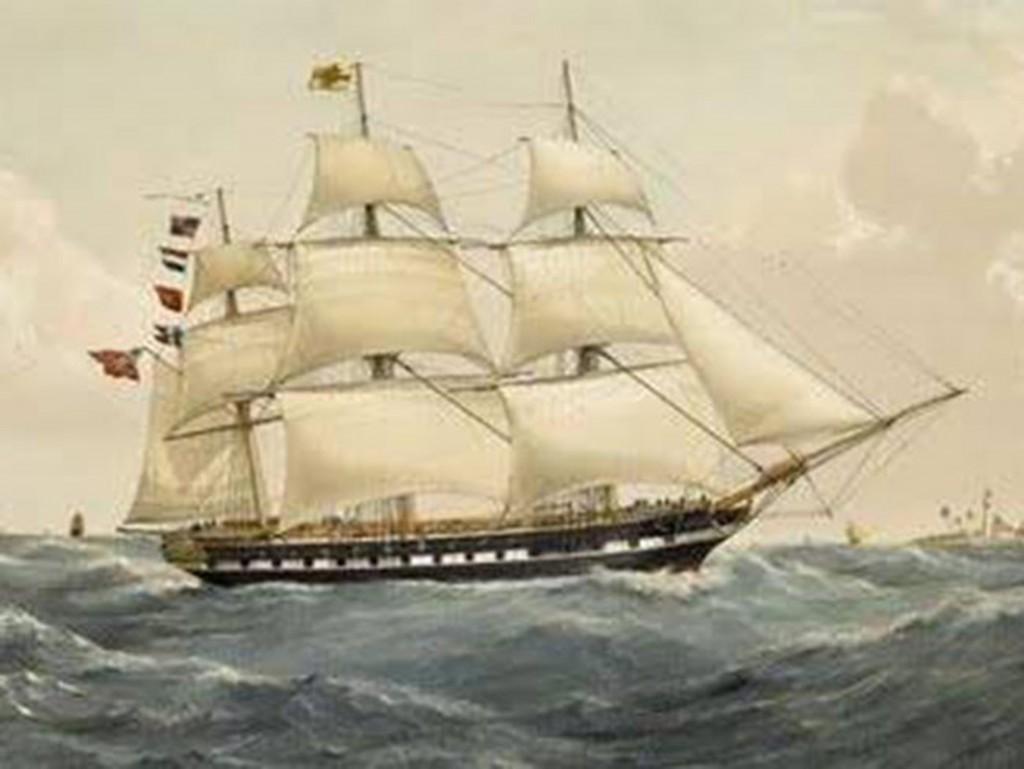 'HMS Owen Glendower, 1808, painted by unknown