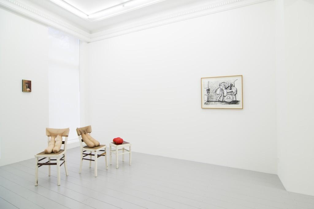 George Condo, Sarah Lucas, Philip Guston