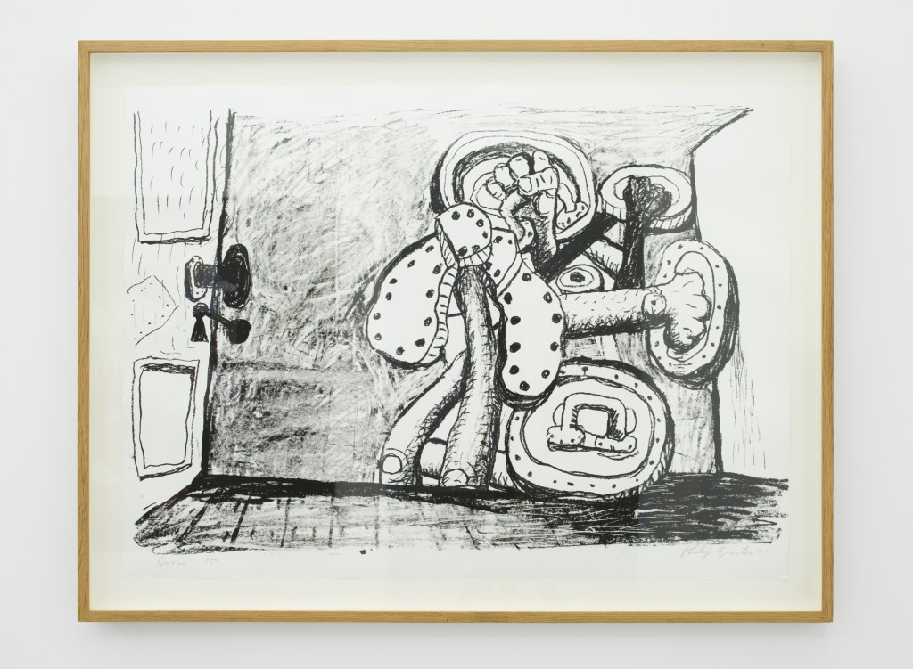 Philip Guston, Door, 1980, Lithograph on Arches paper