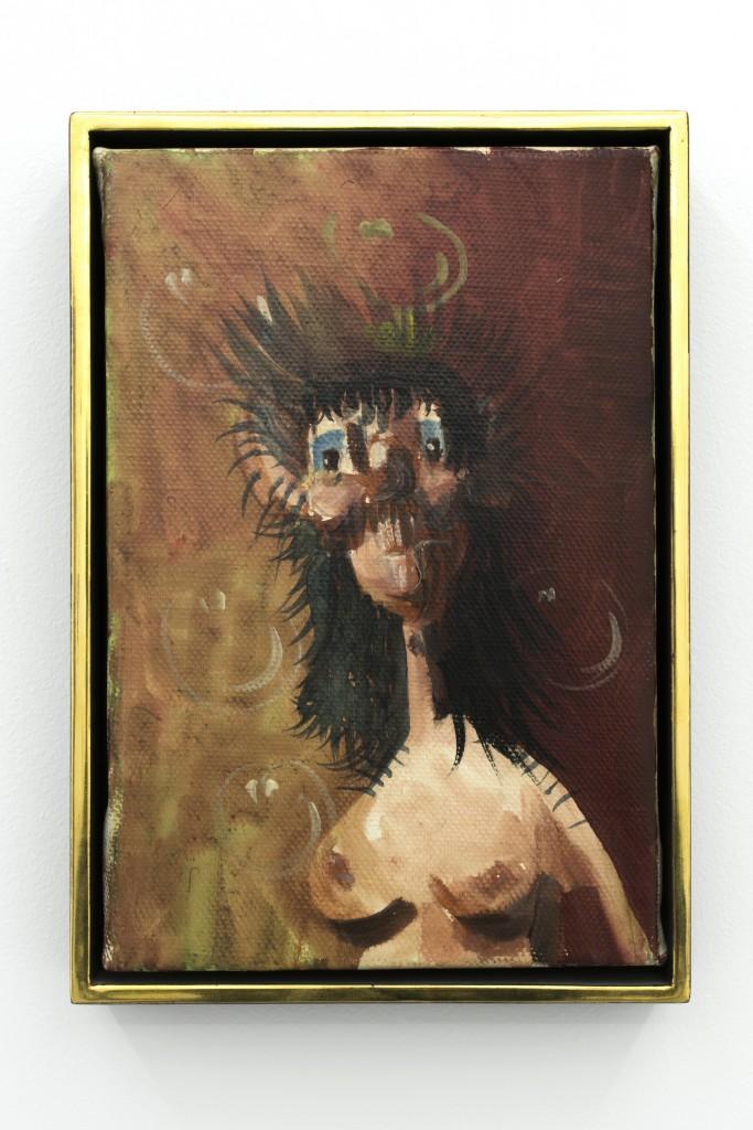 George Condo, Nude Pod, 1998, Oil and acrylic on canvas